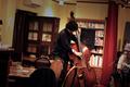 "20130406 - ""Avan + Sido + Tetsu Shirahashi @ 箱崎水族館喫茶室""."