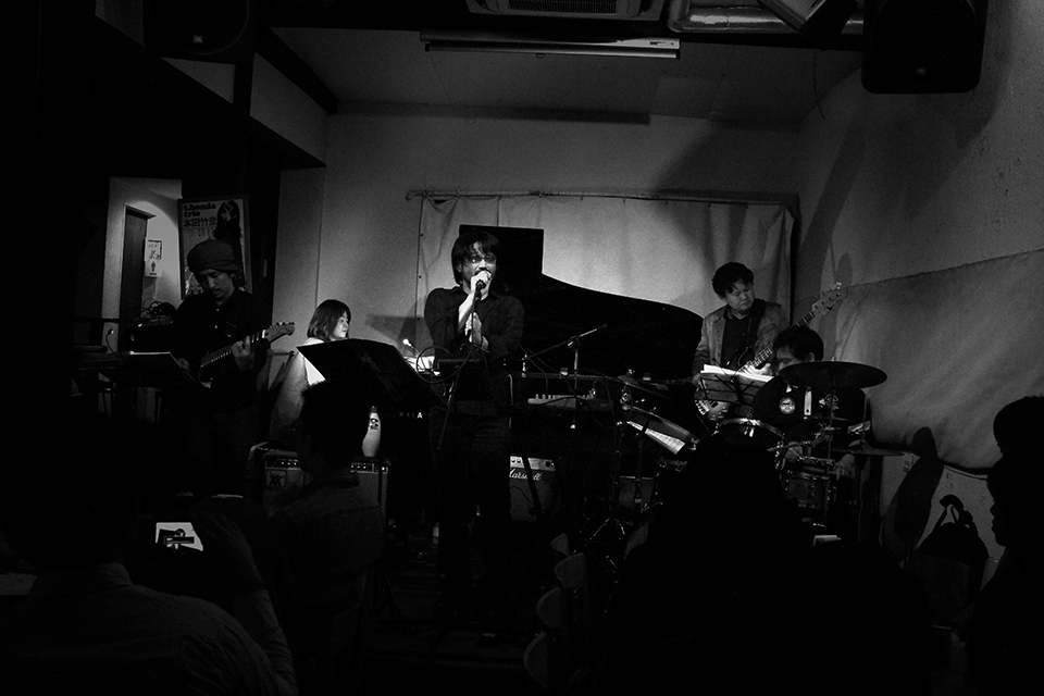 "Life in A Day 2015418 ""0418 - E-SUN + TETSU SHIRAHASHI @ JAZZ Inn New COMBO""."